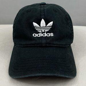 ADIDAS Originals Men's Black Relaxed Strapback Hat
